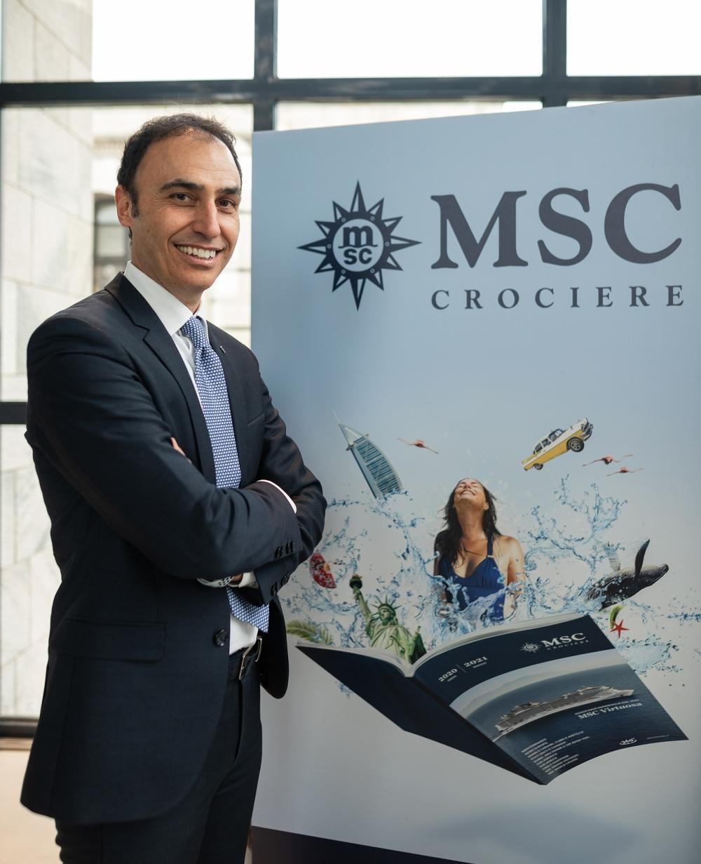 MSC Crociere_ANDREA GUANCI_Direttore Marketing Italia