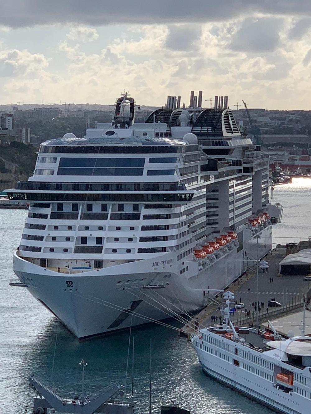 MSC Grandiosa, Maiden Call a La Valletta – Daniela ...
